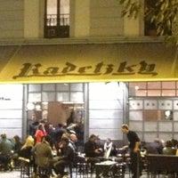 Foto scattata a Radetzky Cafè da Matteo S. il 10/27/2012