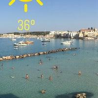 Photo taken at Lido di Otranto by Dario U. on 8/5/2017