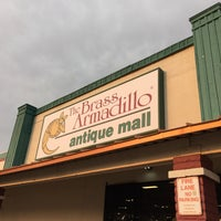 Photo taken at Brass Armadillo Antique Mall by Zamarina P. on 6/21/2016