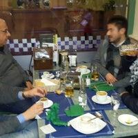 Photo taken at Cafetería Internacional, Granada by Fırat Ö. on 12/29/2013