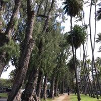 Photo taken at Kaimana Beach Park by §uz E. on 3/8/2017