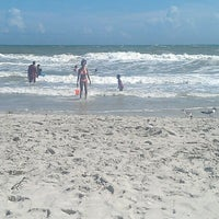 Photo taken at Atlantic Beach by Candace G. on 7/20/2013