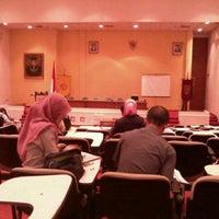 Photo taken at Fakultas Hukum by Farah Thata N. on 9/23/2012