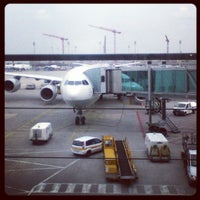 Photo taken at Terminal 2 by Milky M. on 3/24/2013