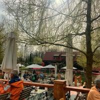 Photo taken at Gasthaus Strandcafé by Thomas M. on 4/3/2016