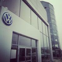 Photo taken at Volkswagen Центр Варшавка by Андрей С. on 10/17/2012