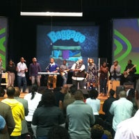 Photo taken at Impact Church [Brown Middle School] by Felicia H. on 10/21/2012