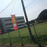Photo taken at 浜名湖電装 吉美グラウンド by hisamichinho on 8/16/2013