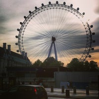 Photo taken at The London Eye by Salvo A. on 7/14/2013