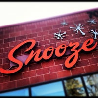 Photo taken at Snooze: An A.M. Eatery by Jay W. on 5/12/2013