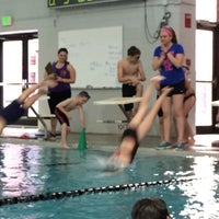 Photo taken at Castle Rock Community Recreation Center Leisure Pool by Jay W. on 5/15/2015