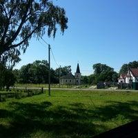 Photo taken at поселок Маяковское by Larisa F. on 6/10/2014