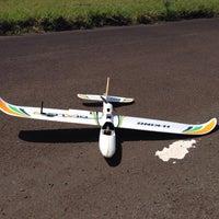 Photo taken at Pista Aeromodelismo by Tatiane D. on 10/5/2014