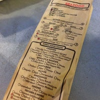 Photo taken at Which Wich? Superior Sandwiches by Tara W. on 10/31/2012