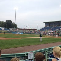 Photo taken at Eastwood Field by Jeremy C. on 8/21/2013