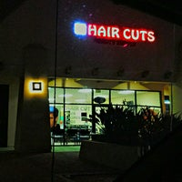 Photo taken at Trendy Hair Cuts by Nestor R. on 11/27/2014