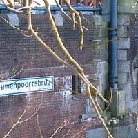 Photo taken at Vrouwenpoortsbrug by Tineke -. on 1/12/2013