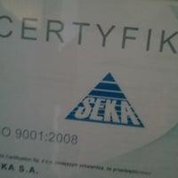 Photo taken at SEKA S.A. by Konrad M. on 2/5/2016