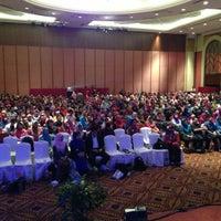 Photo taken at Marriott Putrajaya Hotel by Mohd F. on 4/28/2013