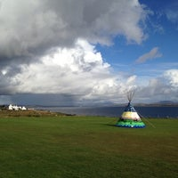 Photo taken at Port Mòr Centre by Islay S. on 10/4/2012