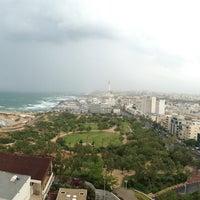 Photo taken at Hilton Tel Aviv by almeida f. on 4/20/2013