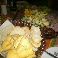 Photo taken at Macaúbas Restaurante by Graziela L. on 11/25/2012