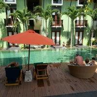 Photo taken at HARRIS Hotel Tuban Bali by Seungchul L. on 8/10/2015