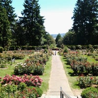 Photo taken at International Rose Test Garden by Dee F. on 7/3/2013
