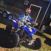 Photo taken at Thundercross Motocross Park by Vanessa P. on 1/17/2015
