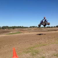 Photo taken at Thundercross Motocross Park by Vanessa P. on 2/17/2014
