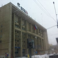Photo taken at ВТБ24 by Olga P. on 3/24/2013