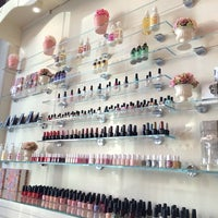 Photo taken at Luxe Nail & Spa Boutique by Audj S. on 2/22/2014