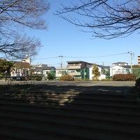 Photo taken at 京町雨水滞水池 多目的広場 by Keiichiro M. on 2/3/2013