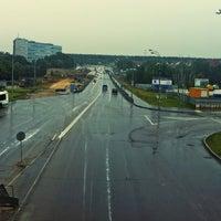 Photo taken at Мост через Центральный Проспект by vlad huli on 7/14/2013