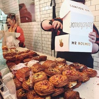 Photo taken at Mr. Holmes Bakehouse by Patricia O. on 2/14/2015