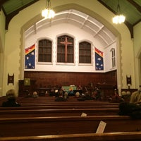 Photo taken at Roncesvalles United Church by Andrius on 11/21/2014