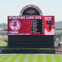 Photo taken at Coca-Cola Field by Jacquie A. on 7/10/2013