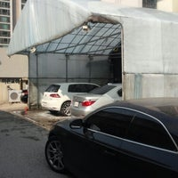 Photo taken at CKS 자동차 외장 전문점 by MJ S. on 3/22/2014