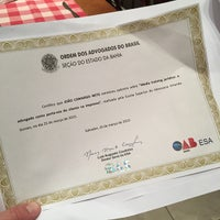 Photo taken at Escola Superior de Advocacia ESA/OAB by João C. on 5/25/2015