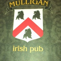 Photo taken at Mulligan Irish Pub by Rafael P. on 12/16/2012