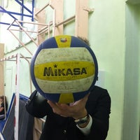 Photo taken at Гимназия № 122 им. Ж. А. Зайцевой by leruha b. on 9/26/2012