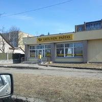 Photo taken at Lietuvos Pastas by Audrius P. on 3/29/2013