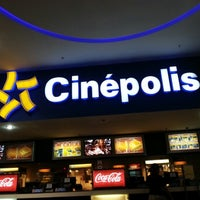 Photo taken at Cinépolis Multiplaza by Rodrigo P. on 11/2/2012
