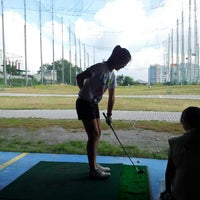 Photo taken at City Golf Driving Range by Philip W. on 4/6/2013