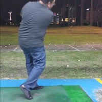 Photo taken at City Golf Driving Range by Philip W. on 10/8/2014