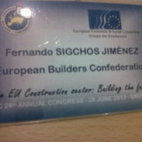 Photo taken at European Economic and Social Committee (EESC) by Fernando S. on 6/28/2013