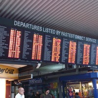Photo taken at East Croydon Railway Station (ECR) by Baldwin H. on 11/15/2012