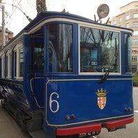 Photo taken at Tramvia Blau by Vladimir N. on 2/2/2013