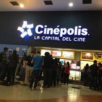 Photo taken at Cinépolis Multicentro by Alejandra M. on 12/16/2012