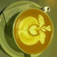 Photo taken at Tradiciones Latte Art Café by Juan T. on 4/24/2013